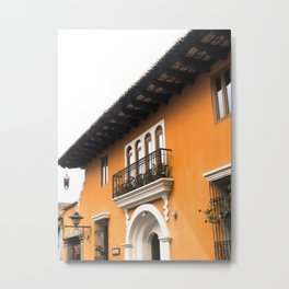 Vibrant Orange Guatemala  Metal Print