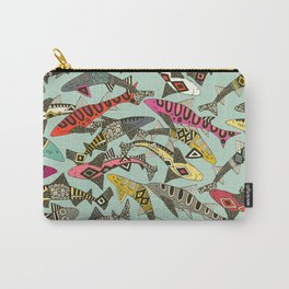 shark party summer Carry-All Pouch