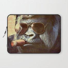 Gorilla in the Mist Laptop Sleeve