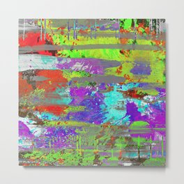 Colour Injection II Metal Print