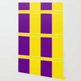 Team Colors 6....Yellow,purple Wallpaper