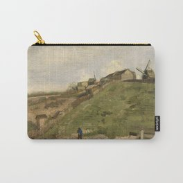 The hill of Montmartre with Stone Quarry Carry-All Pouch