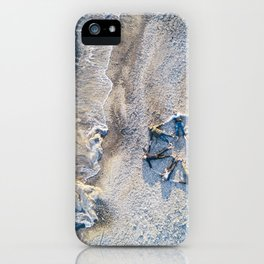 Friends lying down on the beach iPhone Case