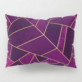Purple Stone Pillow Sham