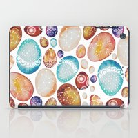 eggs iPad Cases featuring Eggs by Sushibird