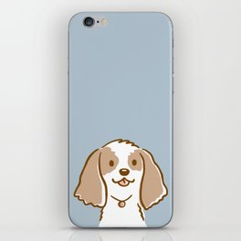 Cocker Spaniel Cartoon Dog iPhone Skin