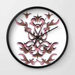 rose celtic decoration Wall Clock