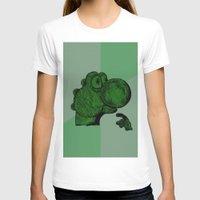 yoshi T-shirts featuring Philosoraptor Yoshi by Triple_S_Art