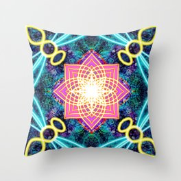 Peace Bee With You Throw Pillow