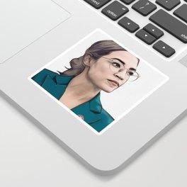 A.O.C. Sticker