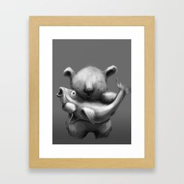 Catch of the day Framed Art Print