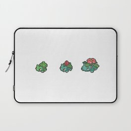 Green Evolutions Bulbasaur/Ivysaur/Venusaur Laptop Sleeve