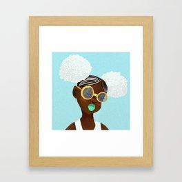 A F R O P U N K Framed Art Print