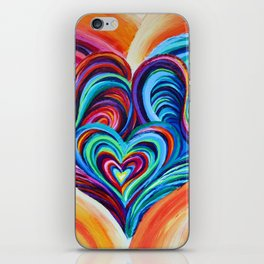 Intertwined Souls iPhone Skin