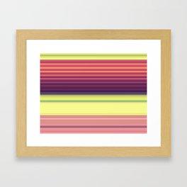 Weird Poly Hill Framed Art Print
