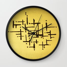 graphyc Wall Clock