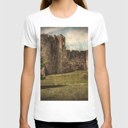 Chepstow Castle Towers T-shirt