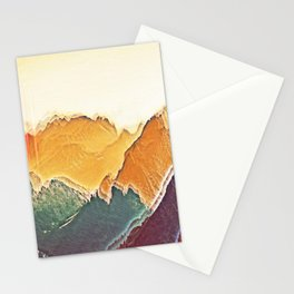 colour mountain Stationery Cards