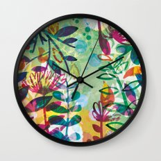 Bloom like a Flower Wall Clock
