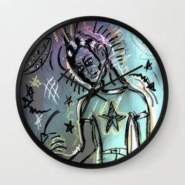 Dreamlike level 6 Wall Clock