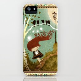 KidNappiNg a liTtle sTAR iPhone Case