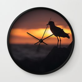 Shadow Bird Wall Clock
