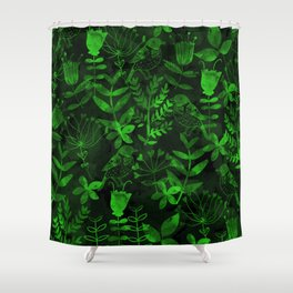 Abstract Botanical Garden IV Shower Curtain