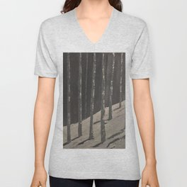 Birch Forest - Spring is coming Unisex V-Neck
