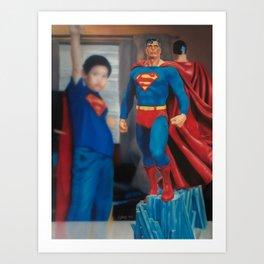 I Am SuperMan Art Print