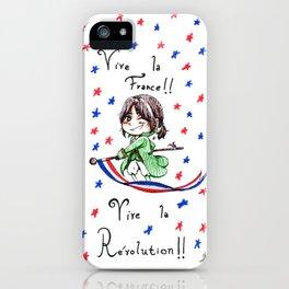 Vive la Révolution! iPhone Case
