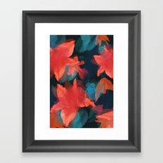 Midnight Garden Framed Art Print