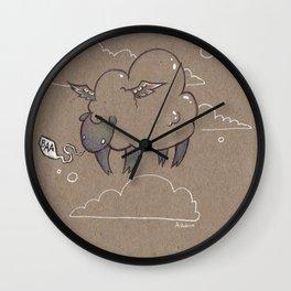 Baa Wall Clock