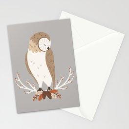 Barn Owl Stationery Cards