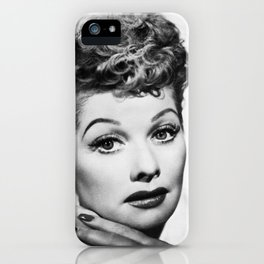 Lucille Ball : I Love Lucy Beauty iPhone Case