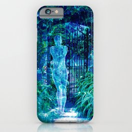 Blue Spirit iPhone Case