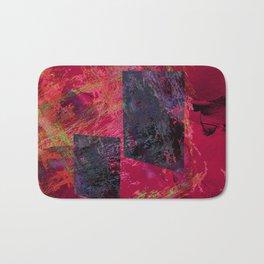 Abstract-art geometric Bath Mat