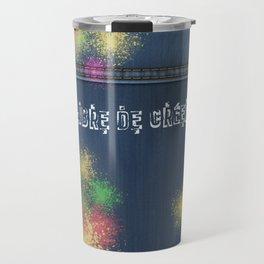 Denim Jeans - Libre De Créer Travel Mug