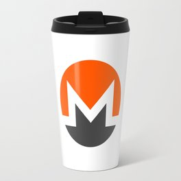 Monero (with text) Travel Mug