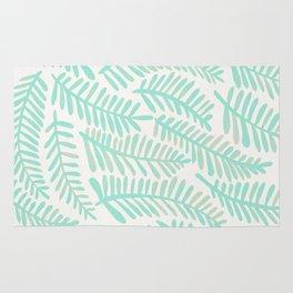 Fronds – Mint Green Palette Rug