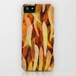 Gum Leaf Dreaming iPhone Case