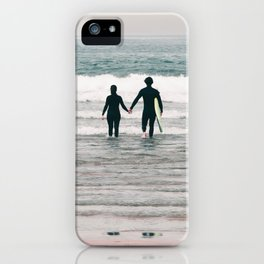 surf love iPhone Case