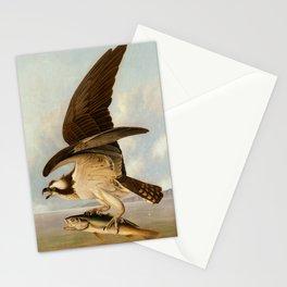 Osprey and Weakfish by John James Audubon, 1829 Stationery Cards