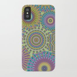 Kaleidoscopic-Jardin colorway iPhone Case