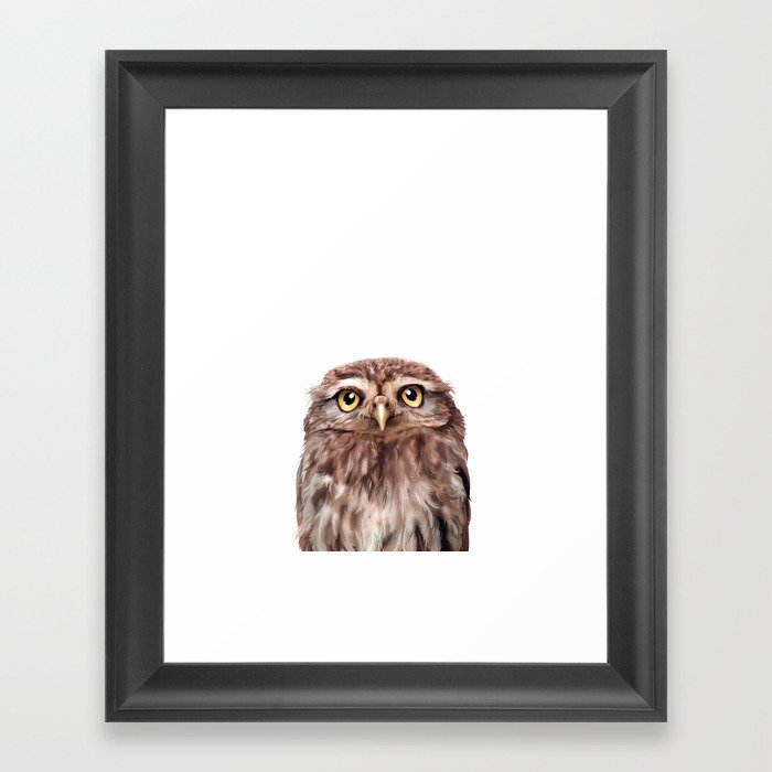 Owl Gerahmter Kunstdruck