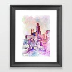 My Kind of Town Framed Art Print