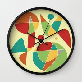 Abstract #135 Wall Clock