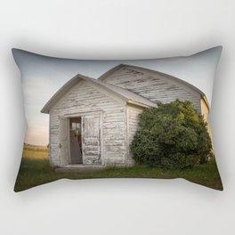 Galpin Church, Montana Prairie Rectangular Pillow