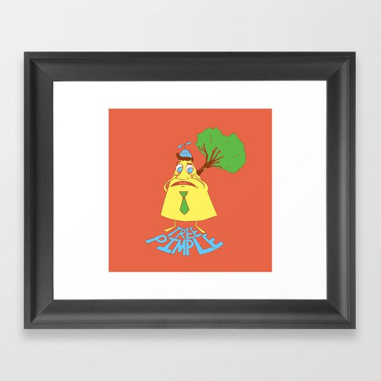 Tree Pimple Framed Art Print