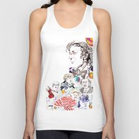 willy wonka Tank Tops featuring Willy Wonka & The Chocolate Factory by Arielle Trenk