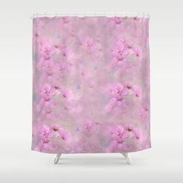 PINK SPRING TIME FLOWER GARDEN Shower Curtain